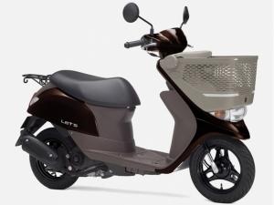 Скутер SUZUKI LET'S 50-6 CA4AA BASKET