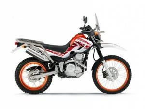 Мотоцикл Yamaha Serow 250, 2008 года